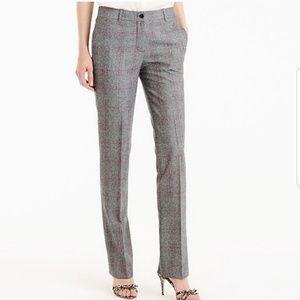 J. Crew Collection NWT Regent Glen Plaid Trouser 2